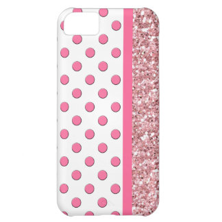 Pink iPhone 5 Glitter Case