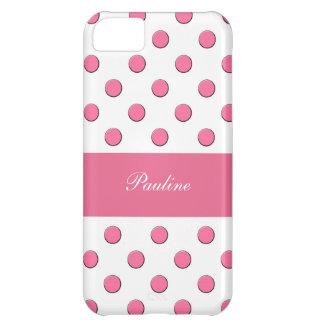 Pink iPhone 5C Monogram Case