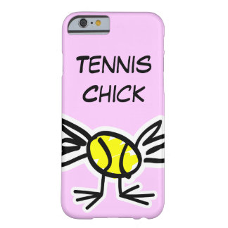 Pink iPhone 6 case with tennis design Barely There iPhone 6 Case