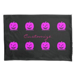 Pink Jack o'lantern Halloween Thunder_Cove Pillowcase