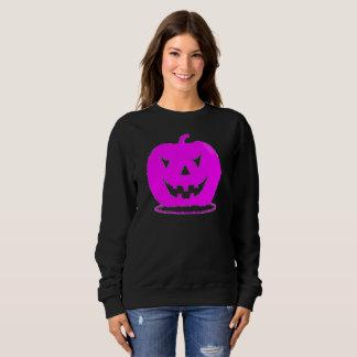 Pink Jack o'lantern Halloween Thunder_Cove Sweatshirt
