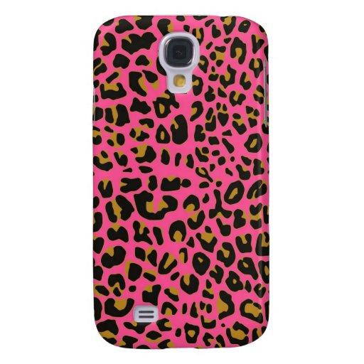 Pink Jaguar fur  iphone 3 Speck case Galaxy S4 Cases