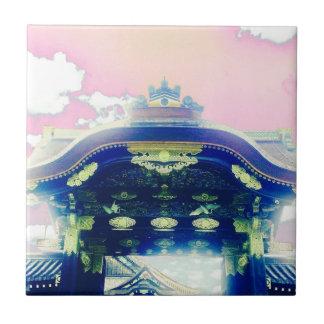 Pink Japanese Castle Series Ceramic Tile
