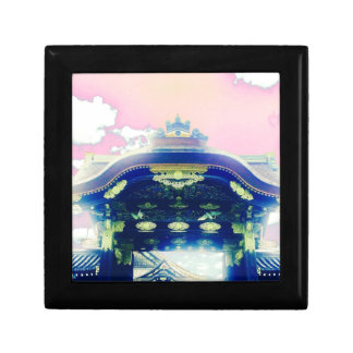 Pink Japanese Castle Series Small Square Gift Box