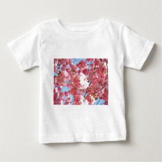 Pink Japanese Cherry Blossom Baby T-Shirt