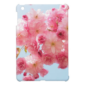 Pink Japanese Cherry Blossom Photograph Cover For The iPad Mini