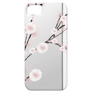 Pink japanese cherry blossom plant iPhone 5 cases