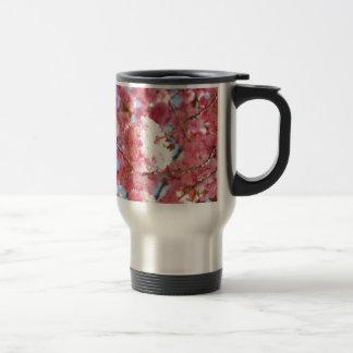 Pink Japanese Cherry Blossom Travel Mug
