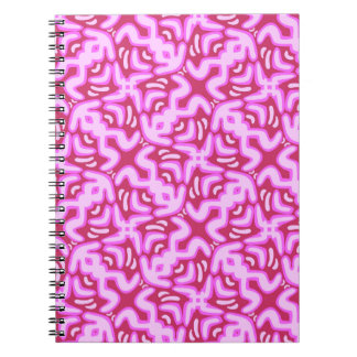 Pink Jelly Pattern Notebook