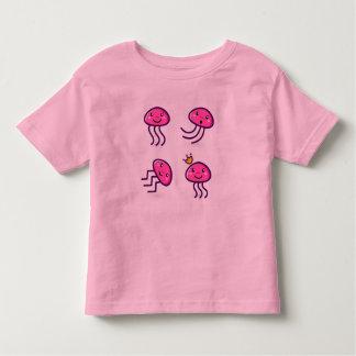 Pink Jellyfish babies t-shirt