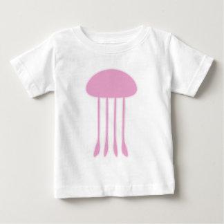Pink Jellyfish Baby T-Shirt