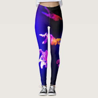Pink JellyFish Leggings