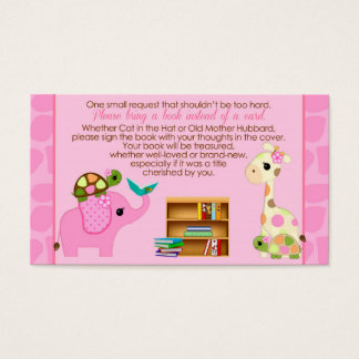 Pink Jungle Book Requests Instead of Card 381