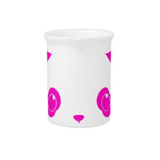 Pink Kawaii Panda Bear Pitcher