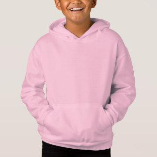 Pink Kids' Fleece Pullover Hoodie