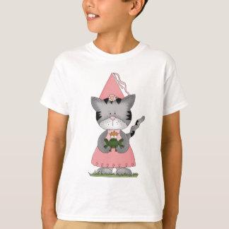 Pink Kitty Princess Tshirt