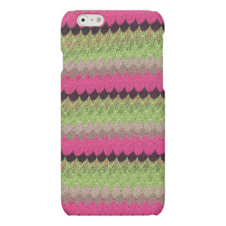 Pink Knit Green Black Wave Crochet Knitted Weave