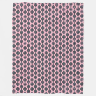 Pink Knot Fleece Blanket
