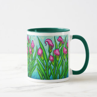 Pink Ladies - Calla Lily Coffee Mug