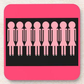 PINK LADIES coasters