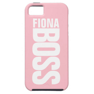 Pink Lady Manager's Personalized Name iPhone5 Case