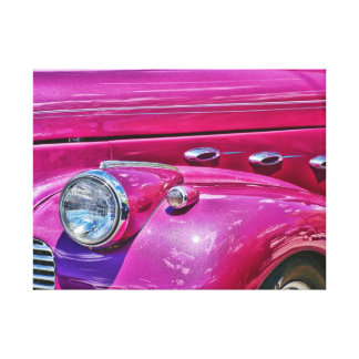 Pink Lady Wrapped Canvas