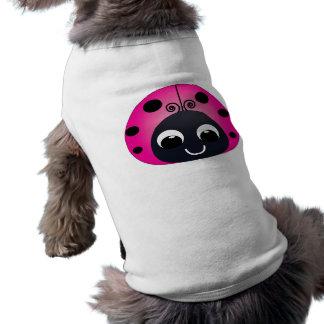 Pink Ladybug Pet Clothing