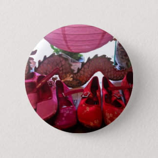 Pink Lantern, Dragon and Silk Shoes Tender Button
