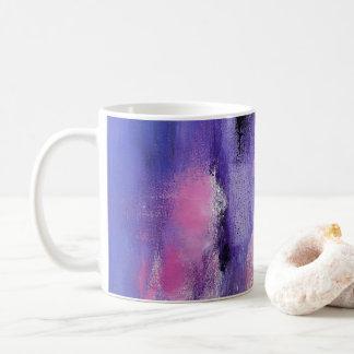 Pink Lavendar Abstract Mug