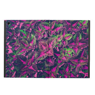 Pink Leaf Camo Case For iPad Air