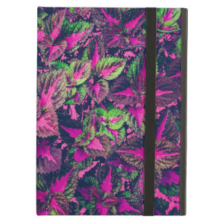 Pink Leaf Camo iPad Air Case