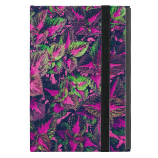 Pink Leaf Camo iPad Mini Cover