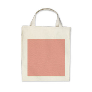 Pink Leather Texture Tote Bags
