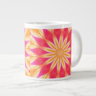 Pink Lemon Lily Jumbo Mug