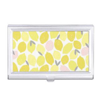Pink Lemonade Business Card Holder
