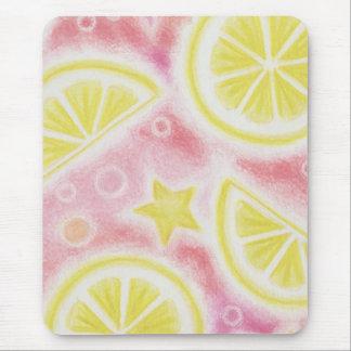 Pink Lemonade 'Lemons' mousepad