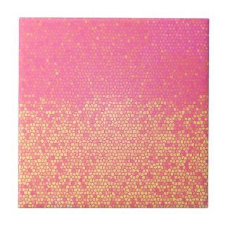 Pink Lemonade Mosaic Tile