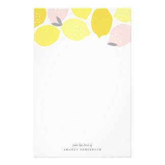 Pink Lemonade Stationery