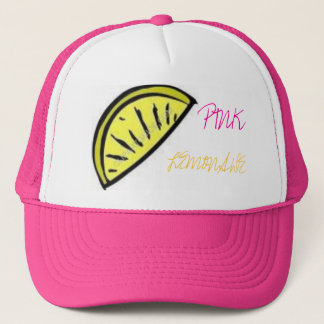 Pink Lemonade Trucker Hat