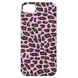Pink Leopard Fur Case For The iPhone 5