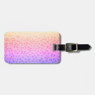 Pink Leopard Luggage Tag