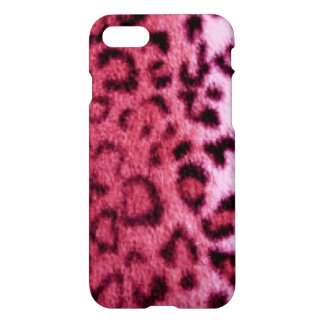 Pink Leopard Pattern Design iPhone 8/7 Case