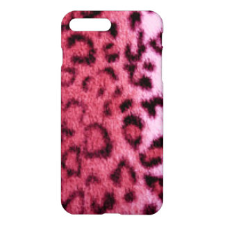 Pink Leopard Pattern Design iPhone 8 Plus/7 Plus Case