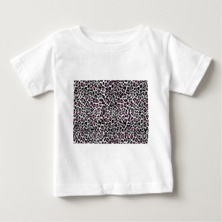pink leopard print baby T-Shirt