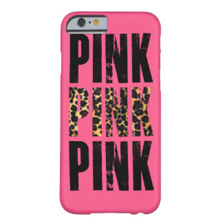 pink leopard print barely there iPhone 6 case