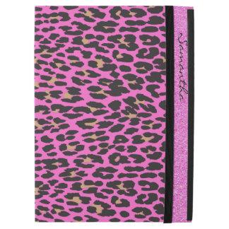 Pink Leopard Print Custom iPad Pro Case