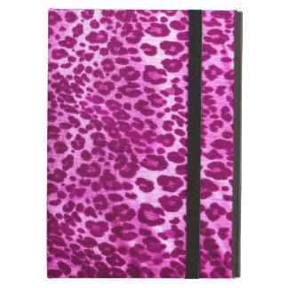 Pink Leopard Print iPad Air Case