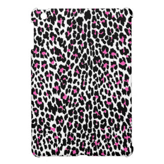 pink leopard print iPad mini case
