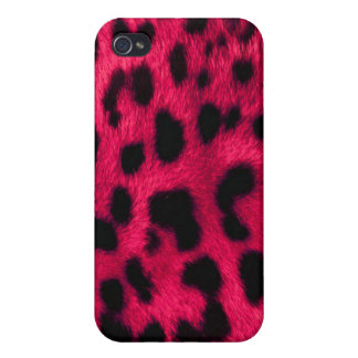 Pink Leopard Print iPhone 4 Case