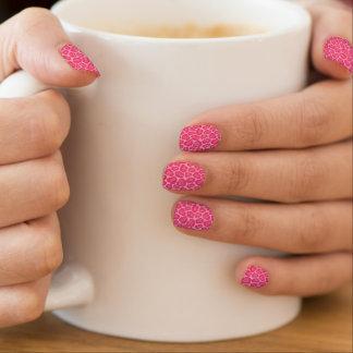 Pink Leopard Print Minx Nails Minx Nail Art